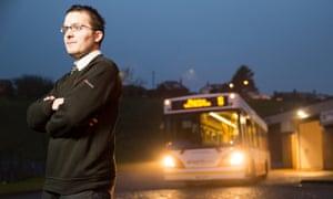 Steve Hurst of Spirit Buses