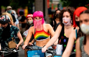 Queers and Queens Unite on Bikes