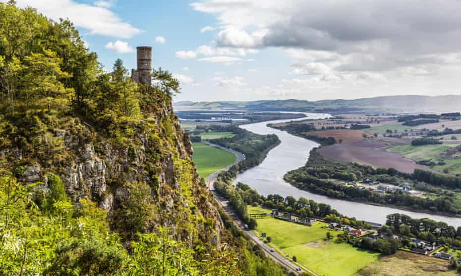 Some of the best views in town are to be had by the ruins of Kinnoull Hill Tower overlooking the River Tay.