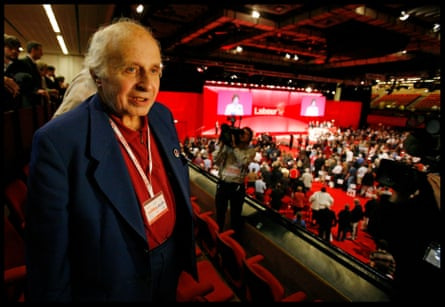 Walter Wolfgang at the 2005 Labour party conference