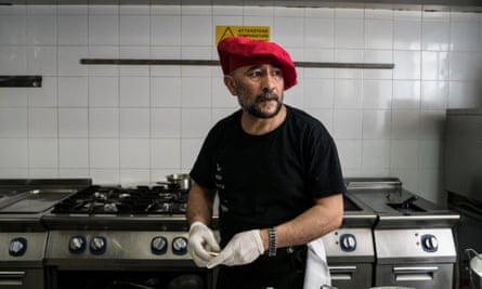 Shapoor Safari left Kabul in 1996, survived a perilous trip to Italy and is now a head chef in Palermo.
