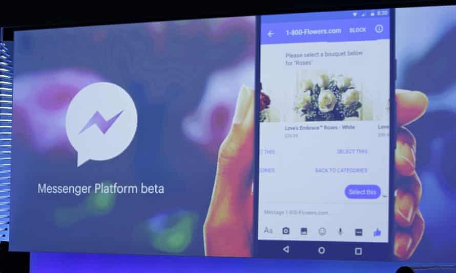 facebook chatbot messenger platform beta