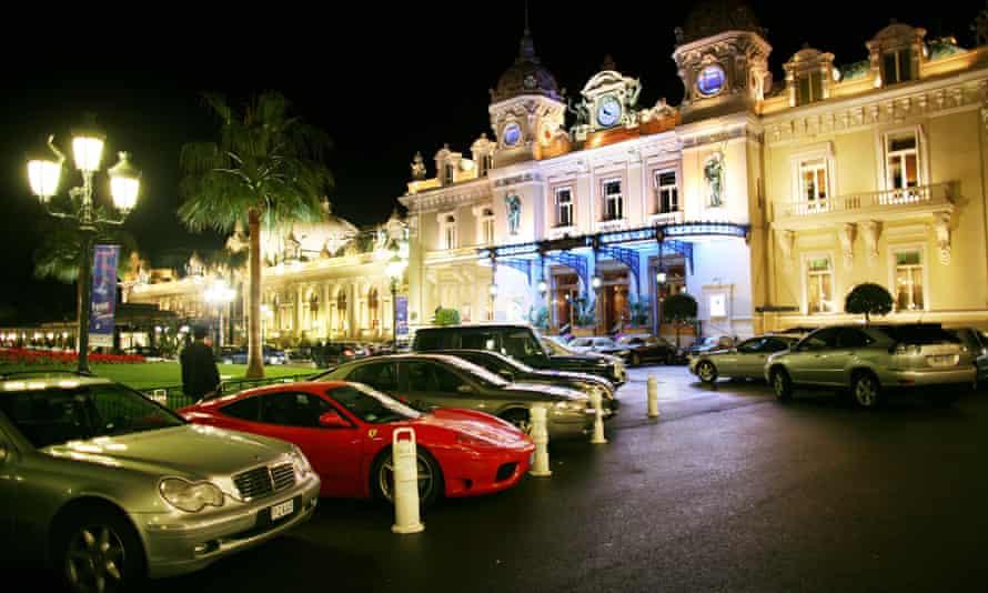 The casino at Monte Carlo.