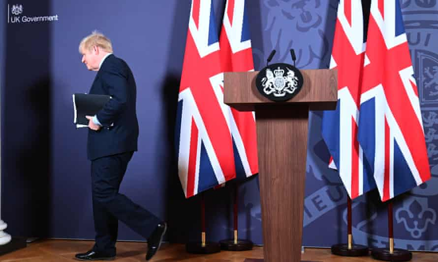 Boris Johnson said the deal gave Britain 'the foundation for a really prosperous new relationship'.