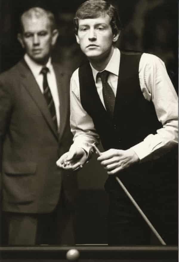 Steve Davis, snooker player.