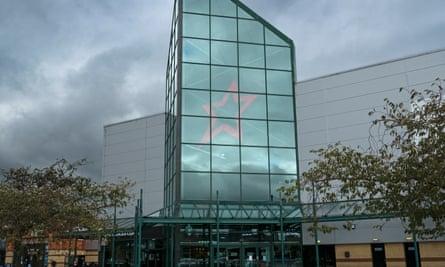 The Cineworld multiplex in Stevenage
