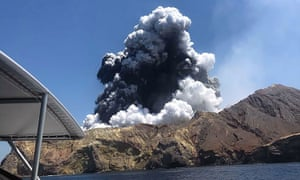 Forty-seven people were on Whakaari/White Island when the volcano erupted on 9 December.