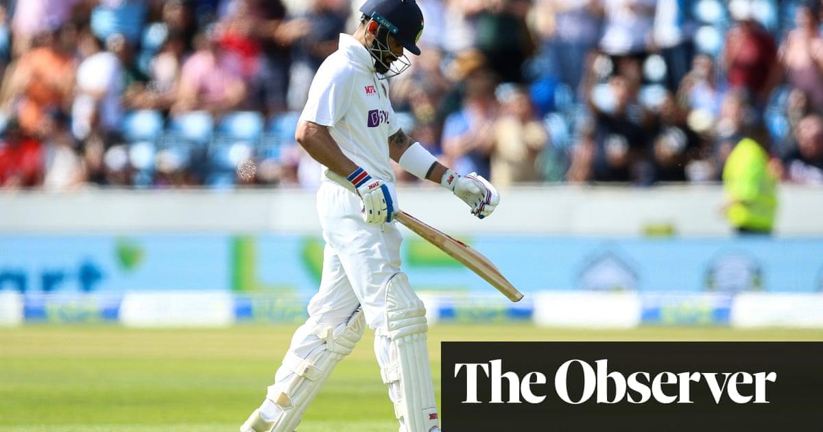 Virat Kohli caught out again as India captain's struggles continue