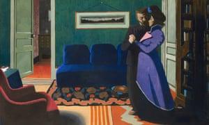 Félix Vallotton's The Visit (La Visite), 1899.
