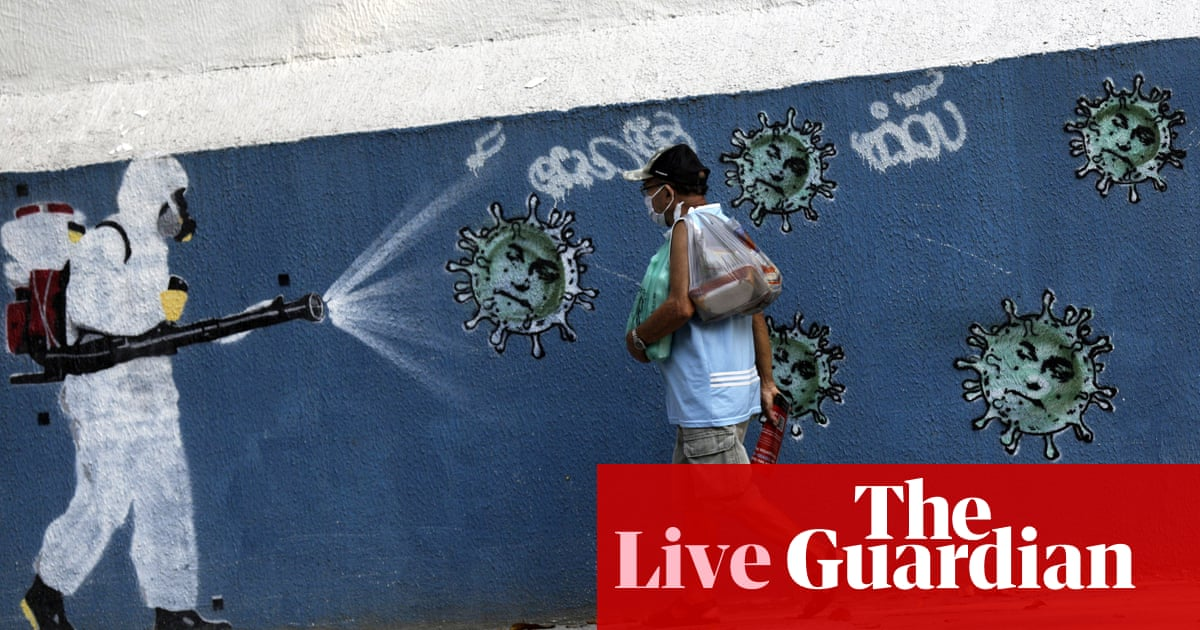 Coronavirus live news: Brazil cases pass 5m; Trump calls catching Covid 'a blessing in disguise' – The Guardian