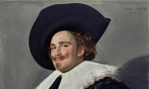 Oh happy man ... The Laughing Cavalier, 1624, by Frans Hals (c 1582–1666), The Wallace Collection