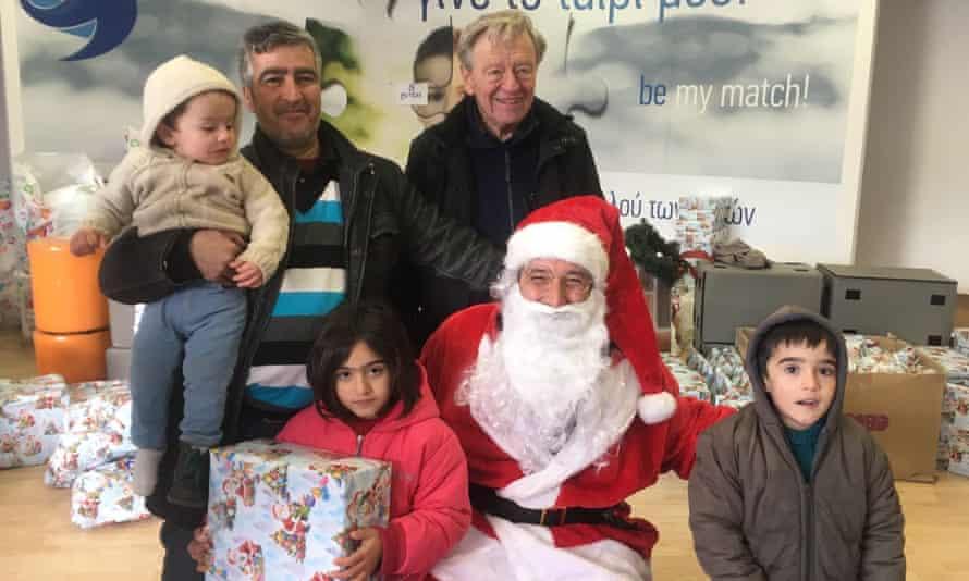 Alf Dubs, Santa and refugee children