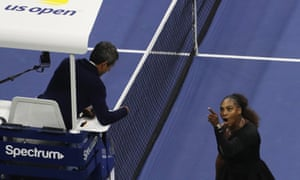 Serena Williams and Carlos Ramos would want to avoid a repeat of last weekend in Melbourne.