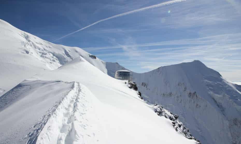 Mont Blanc: Refuge du Gouter