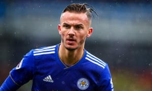 James Maddison of Leicester City, who could soon be moving up in the world.