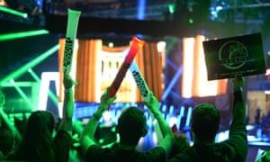 Fans at the League of Legends Oceanic Pro League grand final