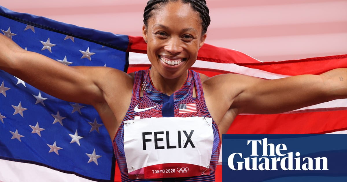 Allyson Felix zooms past Carl Lewis as most decorated US track Olympian