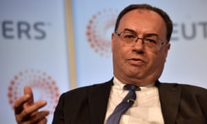 Andrew Bailey, chief executive of the Financial Conduct Authority, is a favourite to be next Bank of England governor.