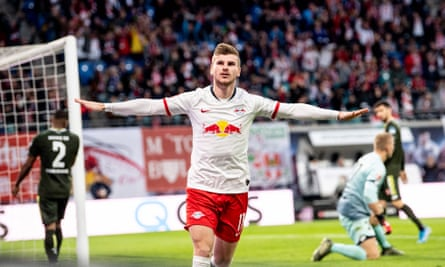 Timo Werner has already scored 13 goals for RB Leipzig this season.