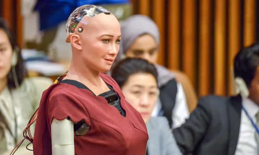 Human robot Sophia
