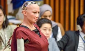 Sophia, a robot developed by Hanson Robotics