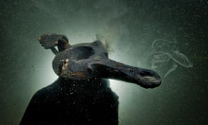 Oil lamp found amid submerged ruins of Thonis-Heracleion and Canopus