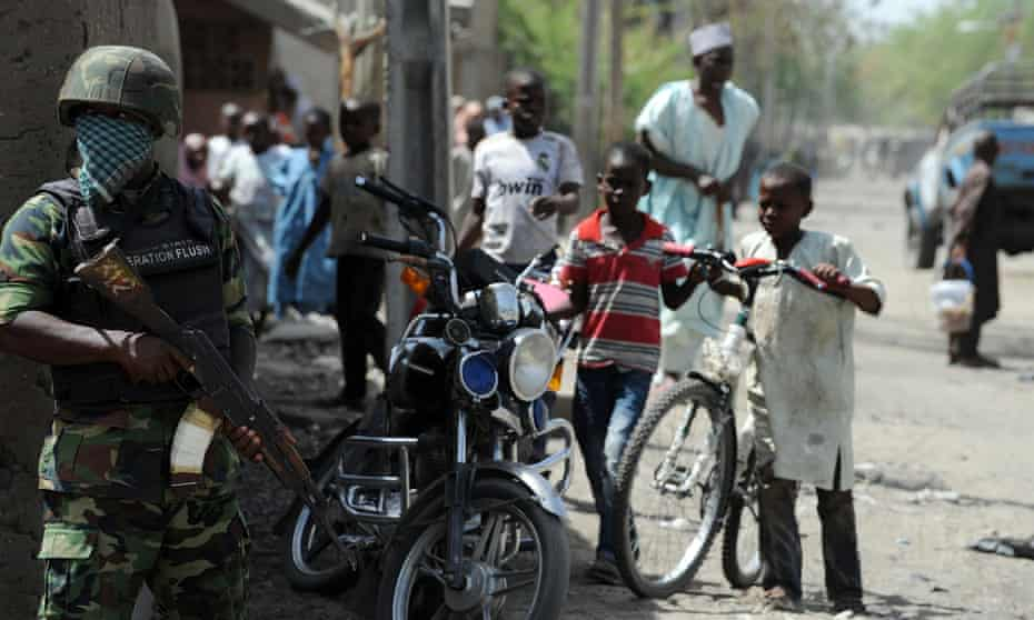 Baga town was the scene of fighting between troops and Boko Haram in early 2013, when dozens of people were killed.