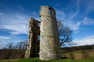 Douglas Castle tower