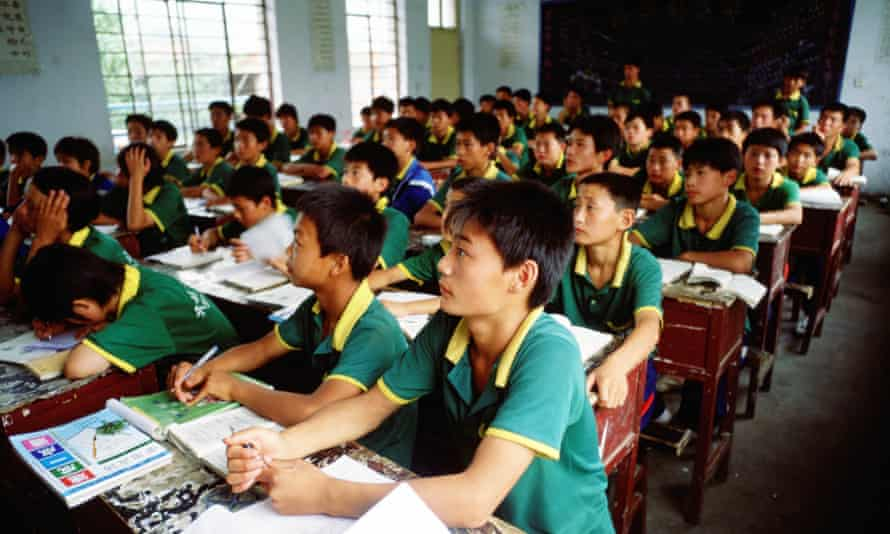Chinese school students: a survey revealed widescale cyberbullying among pupils.