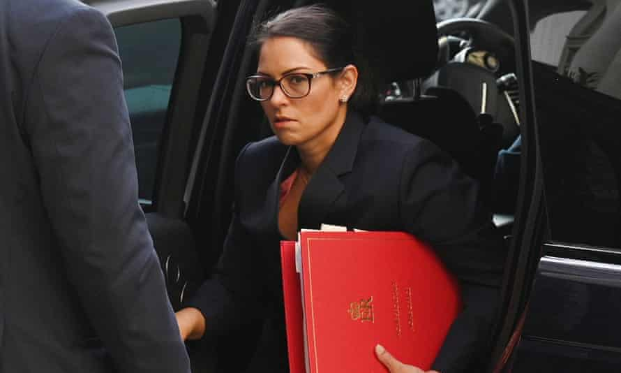 Priti Patel said: 'I acknowledge that I am direct and have at times got frustrated.'