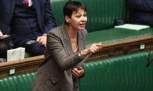 Caroline Lucas MP.