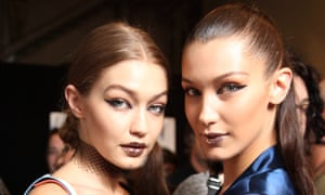 Gigi and Bella Hadid came out in force this year.