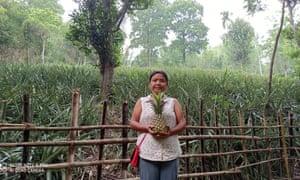 Silme Marak, a farmer in Meghalaya.
