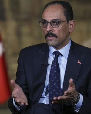 Ibrahim Kalin.