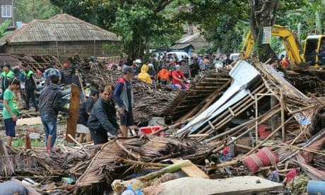 Anak Krakatau tsunami - in pictures