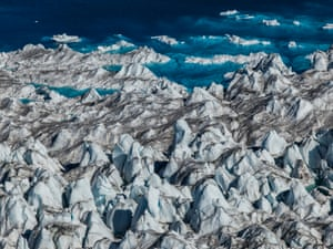 Seascape, Greenland Ice Sheet 2016