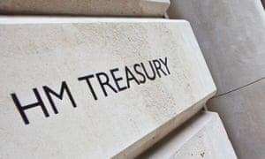 Sign outside the Treasury