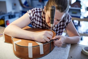 Heydenrych pieces together a guitar