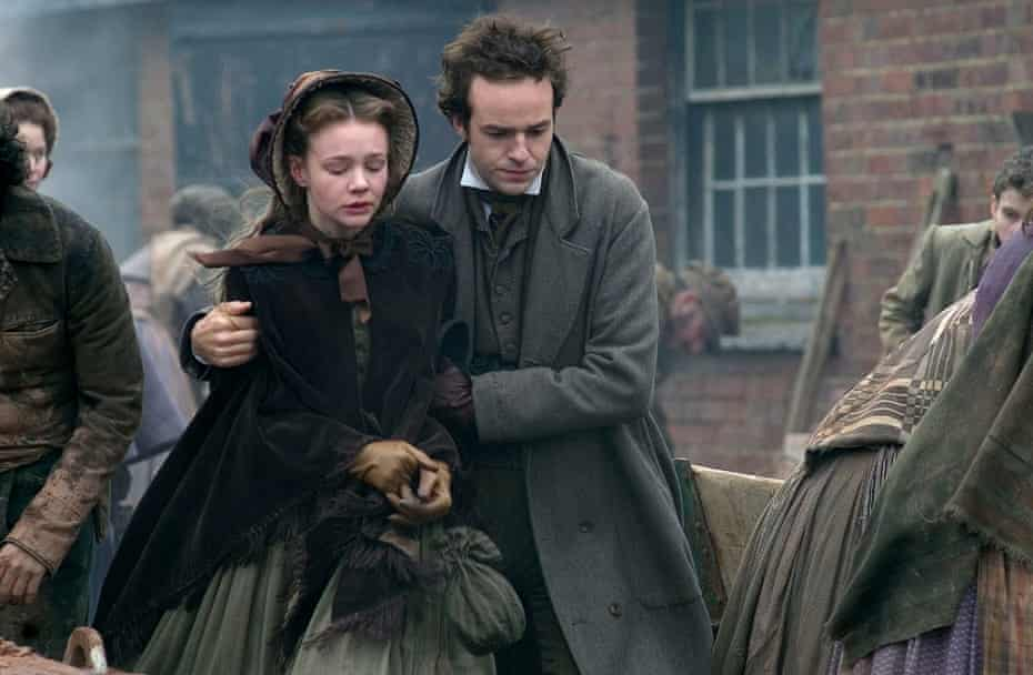 Carey Mulligan as Ada and Patrick Kennedy as Richard in the BBC1's 2005 adaptation of Bleak House