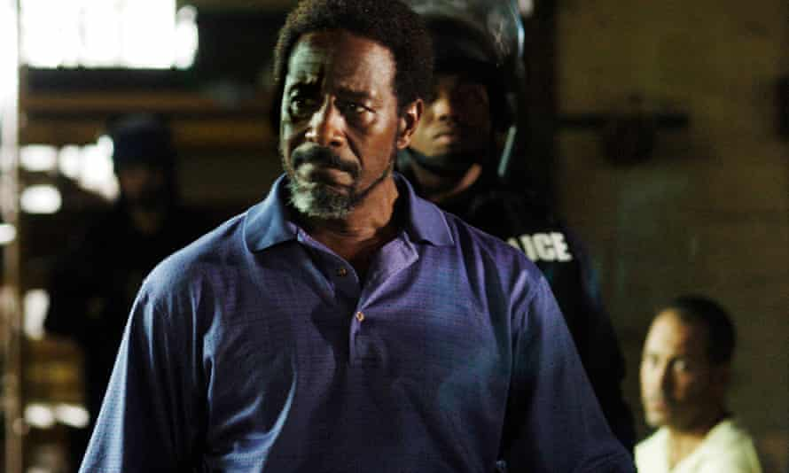 Clarke Peters in The Wire
