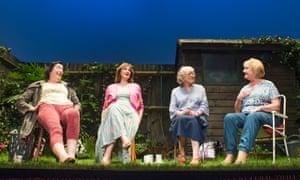 'Revolutionary': (l-r) Linda Bassett, Deborah Findlay, Kika Markham and June Watson in Escaped Alone at the Royal Court.