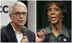 George Gascón and Jackie Lacey are locked in a tight race for Los Angeles district attorney.