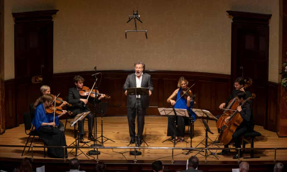 Christian Gerhaher and friends, live at Wigmore Hall.