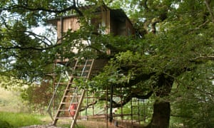 Beudy Banc treehouse in Wales is listed on Canopy & Stars
