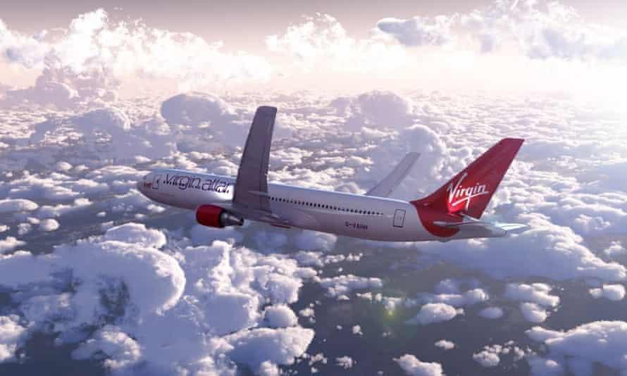 Virgin Atlantic's Dreambird 1417