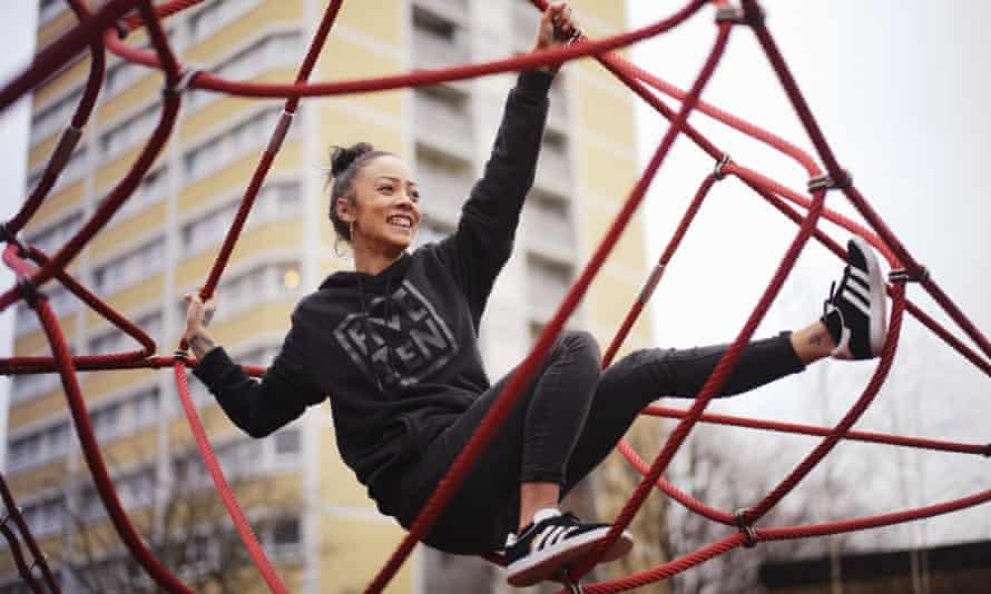 Carmen McIlveen, who runs Project One Climbing