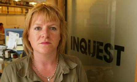 Deborah Coles, director of criminal justice charity Inquest.