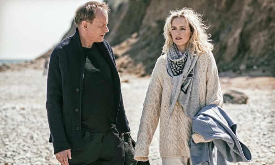 Stellan Skarsgard and Nina Hoss in Return to Montauk.