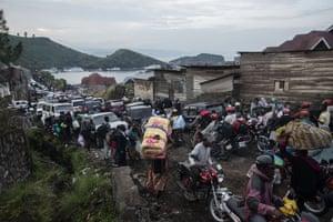 Evacuation from Goma