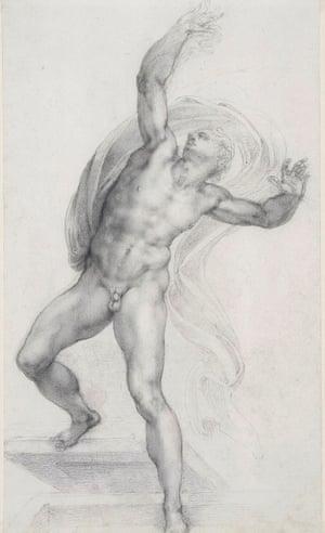 The Risen Christ by Michelangelo, c1532-3.